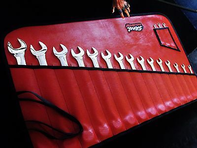 "snap-on tools OEX8B-OEX40B combination wrench set SAE 1/4""-1-1/4""...super sharp!"
