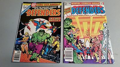 The Defenders 1 King Size Annual & The Defenders 100 Comics