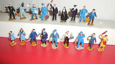 Lot 18 Personnages HORNBY STARLUX ?? éch O