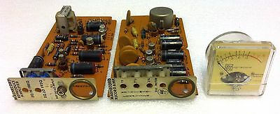 Magnecord Record Amplifier, Reproduce Amplifier and VU Meter set.