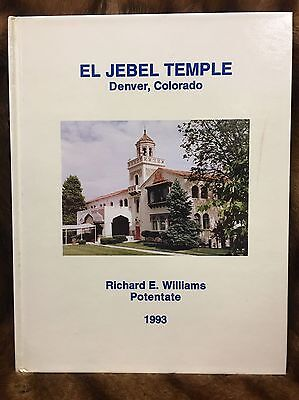 El Jebel Temple Yearbook DENVER CO 1993 SHRINERS CLUB Great Condition
