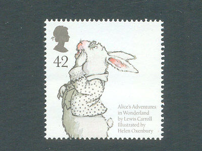 Great Britain-Alice in Wonderland mnh single-Lewis Carroll