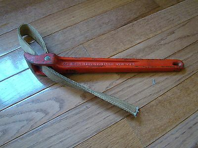 Ridgid Pipe Wrench USED, 12 Inch NO.2 STRAP WRENCH
