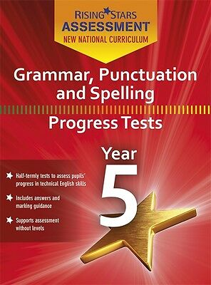 Rising Stars Grammer Punctuation & Spelling Progress Tests Year 5 (CD-Rom Only)