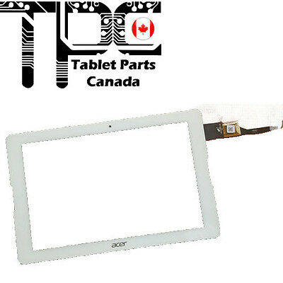 "Acer Iconia One 10"" B3-A20 A5008 Touch Screen Digitizer Glass - White"