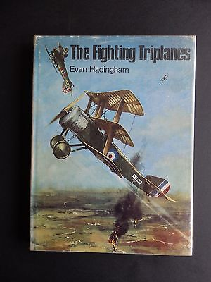 The Fighting Triplanes Hardback Book By Evan Hadingham First Edition 1968