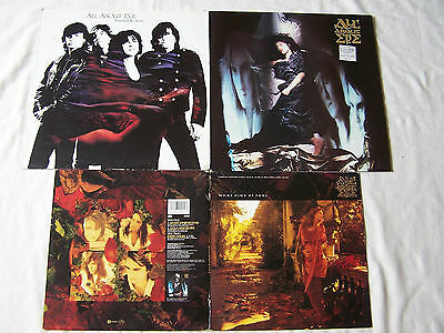 "Goth Joblot Of All About Eve 10"" & Albums What Kind Of Fool / Touched By Jesus"