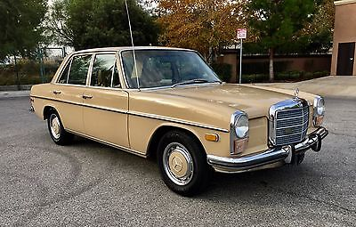 1972 Mercedes-Benz 200-Series  mercedes 220 gas 250 280 SL w114 w115 w123 sel pagoda 300D SE w111 coupe ce 300
