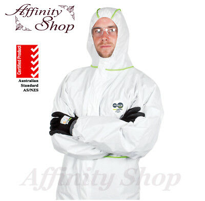 5 Disposable Coveralls Force360 Maxrepel Coverall Type 4,5,6 Protective Clothing