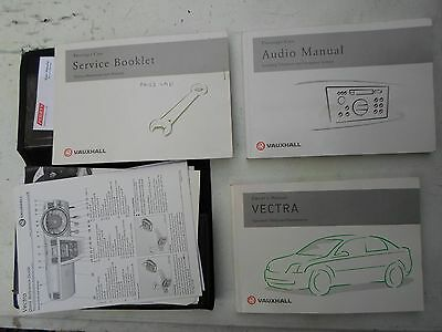 Vauxhall Vectra C Owners Manual 2002 To 2005  Free P&p