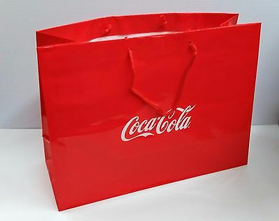 Coca-Cola Large Gift Bag - BRAND NEW