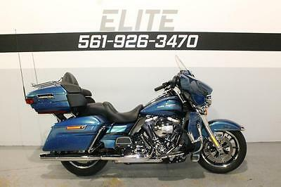 2014 Harley-Davidson Touring  2014 Harley Electra Glide Ultra Limited FLHTK $326 a Month GPS ABS 6.5""