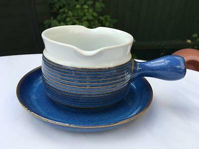 Denby Langley Chatsworth Large Collection--- Gravy Boat & Saucer  , Lot 14