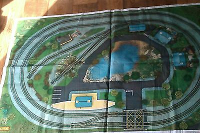HORNBY collectable vintage TRAIN PLAYMAT
