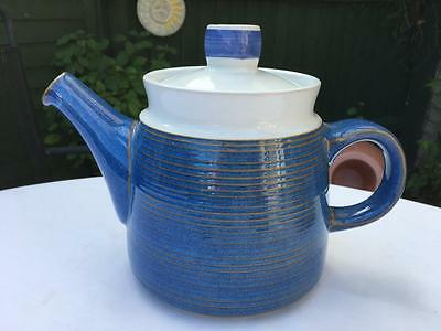 """Denby Langley Chatsworth Large Collection, Large Teapot. 6.5"""" High,  Lot 21"""