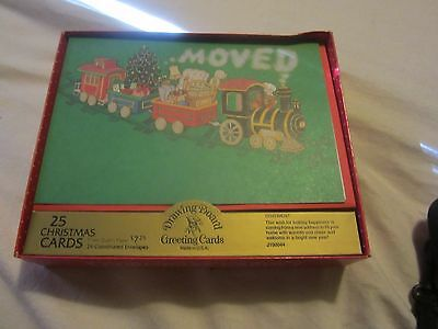 Box of 25 Unused Christmas Cards / Christmas Cards by Drawing Board