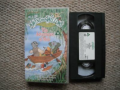 The Wind In The Willows Collection - Adventures Of Mole - Rare Vhs Video Tape