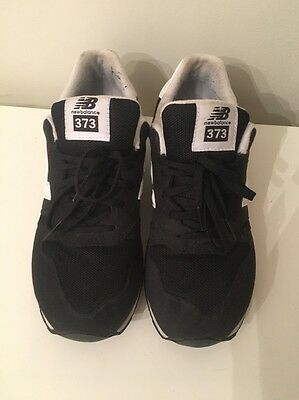 New Balance 373 Size 5 Grey And Black Trainers