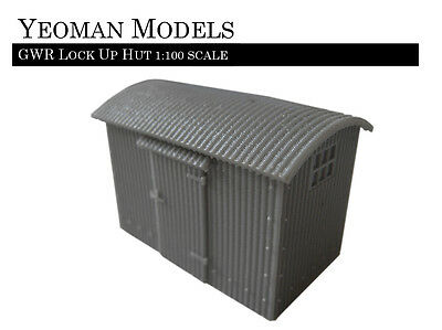 GWR Lock Up Hut 1:100 scale TT Guage and Flames of War compatible