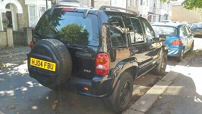 2004 Jeep Cherokee Limited Crd 2.8 Diesel Auto