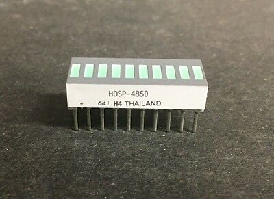 Avago HDSP-4850 LED Uni-Color Green 566nm 20-Pin (1pc)