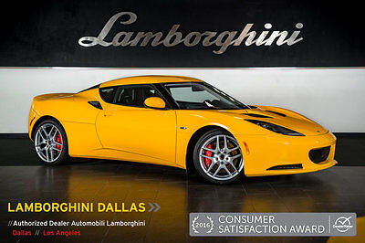 2013 Lotus Evora  PORT PACK+TECH PACK+PREMIUM PACK+AUTOMATIC+LEATHER+BACK UP CAMERA+NAVIGATION