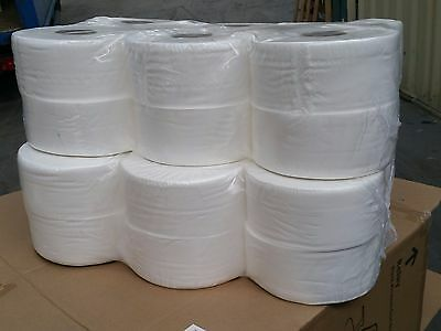 24 Mini Jumbo 2 Ply Pure Soft Toilet Tissue Roll Wholesale Best Quality UK made