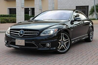 2009 Mercedes-Benz CL-Class Base Coupe 2-Door 2009 Mercedes-Benz CL63 AMG Designo BlindSpot,Night Vision $155K MSRP!