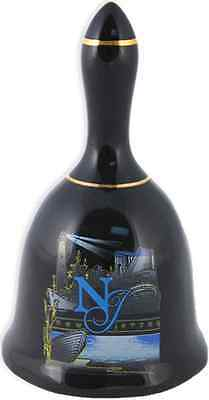 New Jersey  souvenirs Bell / Black - New Jersey Graphic