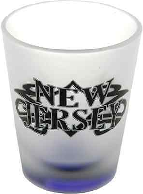 New Jersey  souvenirs  Shot Glass / Frosted - Tribal New Jersey
