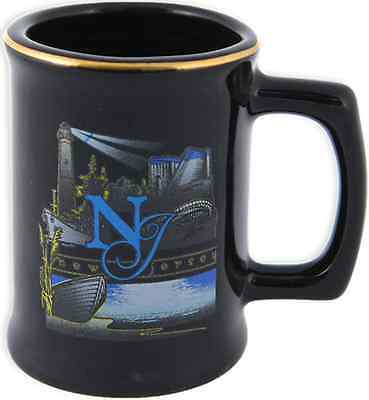 New Jersey  souvenirs  toothpick Holder / Black - New Jersey Graphic