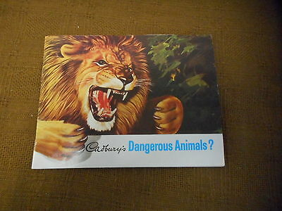Trade Cards Completed Albums - Cadbury Chocolate - Dangerous Animals