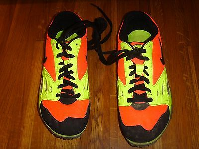 Unisex Nike Zoom Rival Spikes for track & field - Size 3 (orange/yellow)