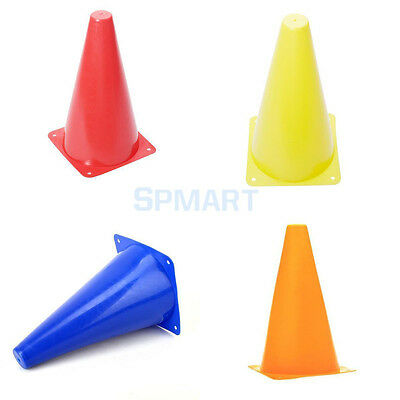 9inch PVC Sports Agility Cones Field Road Soccer Fitness Football Rubgy Training