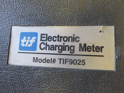 Tif Instruments TIF9025 Electronic Refrigerant Charging Scale