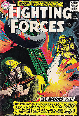 DC OUR FIGHTING FORCES #94 August 1965 VF-/NM-