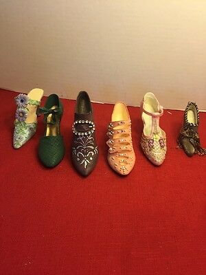 Vintage Just The Right Shoe Collectable Shoes + N Stalgia & Other Lot 1998,99