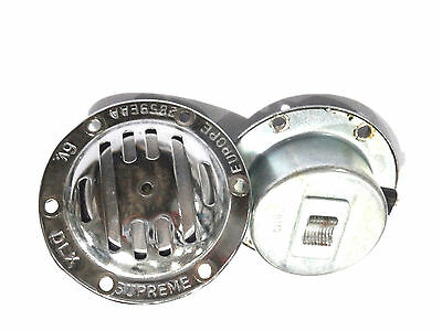 Vespa Milano Horn 6V-AC Alternating current Chrome V50, PV, 50N, VBB V-353)