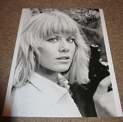 Glynis Barber  -  Sexy  Signed  10X8 Bw  Photo -  Genuine - Uacc Proof