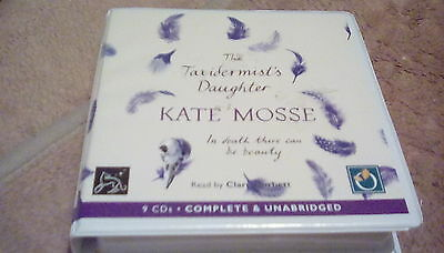 The Taxidermist's Daughter by Kate Morse 9cd audio book