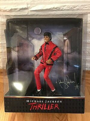 """Michael Jackson Playmates THRILLER Figurine 10"""" Numbered Collectible Doll #29670"""