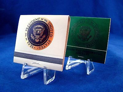 Presidential Seal - Ronald Reagan - Jimmy Carter  Air Force One - Match Books