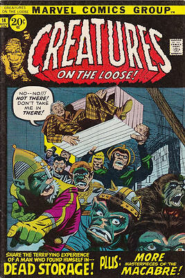 Marvel CREATURES ON THE LOOSE #14 November 1971 VF/NM