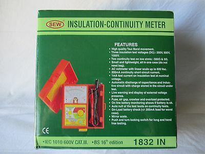 Sew Insulation-Continuity Tester 1832IN