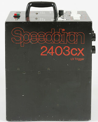 Speedotron 2403cx LV 2400 Ws Power Pack