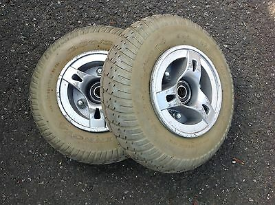 Mobility Scooter Kymco Mini Wheels and Tyres Front Pair