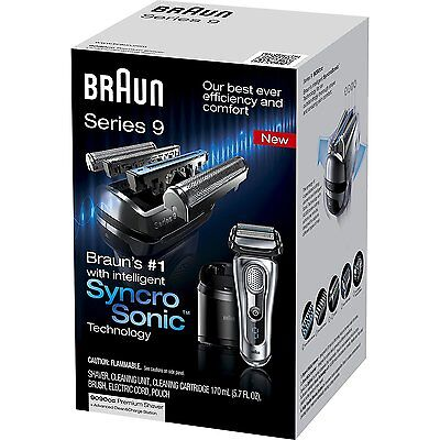 NEW Braun Series 9 9090cc Electric Foil Shaver for Men with Cleaning Center