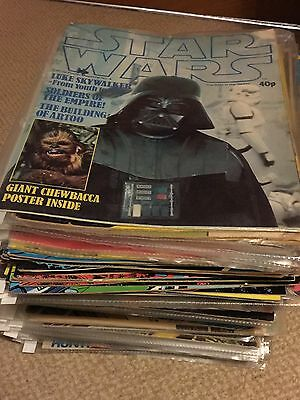 Star Wars Original Marvel Comics 126 Issues (1979-1985) All In Good Condition