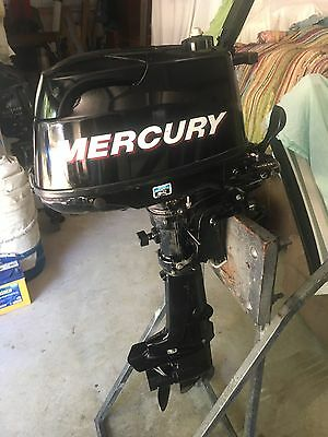 Mercury 6 Hp Four Stroke Can Freight Australia Wide