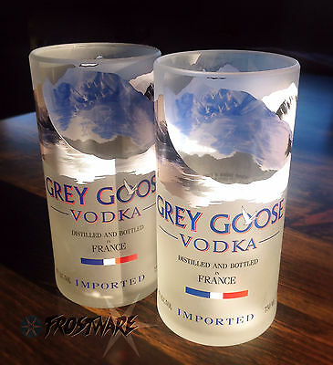 Grey Goose Vodka 6x 16oz Tall Glasses